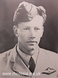 Fighter Pilot, later Prime Minister of Rhodesia, Ian Smith